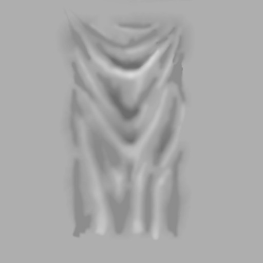 Shading based on the drape pattern (img)