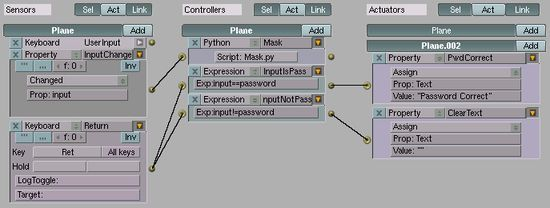 Logic for masked password input(img)