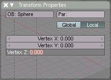 Image of the Transform Properties
